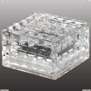 357243 Novotech 044 прозрачный Ландшафтный IP68 4LED белых 0,75W 1,2V TILE