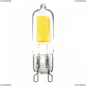 7091 (VG9-K1G9cold5W) Лампа светодиодная G9 5W 4000К прозрачная Voltega (Вольтега), Capsule