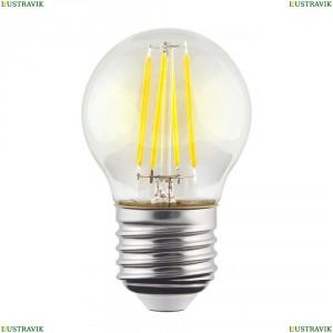 7106 (VG10-G1E27warm9W-F) Лампа светодиодная филаментная филаментная E27 9W 2800К прозрачная Voltega (Вольтега), Crystal