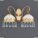 A 7961/2 Бра Reccagni Angelo, 2 плафона, французское золото