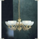 L.2825/5 Люстра подвесная Reccagni Angelo, 5 плафонов, бронза