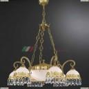 L 7961/6+2 Люстра подвесная Reccagni Angelo, 8 ламп, французское золото