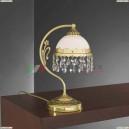 P 7961 P Настольная лампа Reccagni Angelo, 1 плафон, французское золото