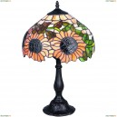 OML-80404-01 Настольная лампа Omnilux тиффани, 1 лампа, бронза (Омнилюкс)