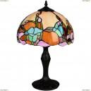 OML-80904-01 Настольная лампа Omnilux тиффани, 1 лампа, бронза (Омнилюкс)