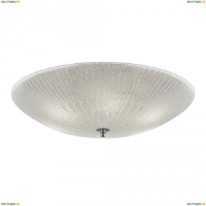 820860 Люстра потолочная Lightstar Zucche, 6 ламп, белый с прозрачным