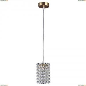 795312 Подвес хрустальный Lightstar Cristallo, 1 лампа, золото, прозрачный