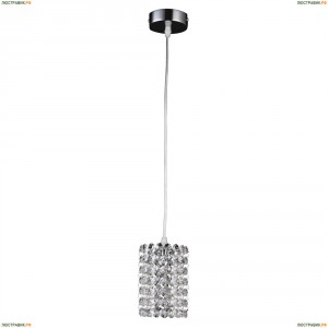 795314 Подвес хрустальный Lightstar Cristallo, 1 лампа, хром, прозрачный