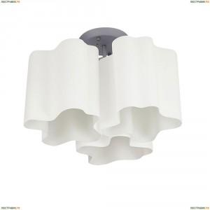 802030 Люстра потолочная Lightstar Simple Light, 3 плафона, хром, белый