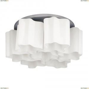802070 Люстра потолочная Lightstar Simple Light, 7 плафонов, хром, белый