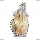 705632 Светильник настенный хрустальный Osgona Riccio, 3 лампы, золото, прозрачный