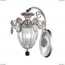 790614 Бра хрустальное Osgona Schon, 1 плафон, серебро с золотом, прозрачный