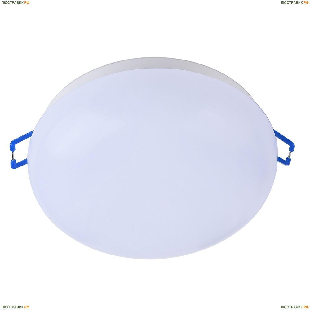 DL297-6-6W-W Встраиваемый светодиодный светильник Maytoni (Майтони), Plastic