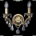 НББ45-2х60-382 Гельвеция/золото Бра хрустальное Epicentr (ЭПИцентр)