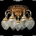 НСБ21-9х60-900 Вена/золото Люстра потолочная Epicentr (ЭПИцентр)