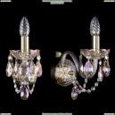 1400/1/165/G/M701 Бра хрустальное Bohemia Ivele Crystal (Богемия)