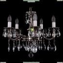 1701/5/181/A/NB Хрустальная подвесная люстра Bohemia Ivele Crystal (Богемия)