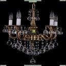 1701/5/181/B/FP/Balls Хрустальная подвесная люстра Bohemia Ivele Crystal (Богемия)