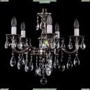 1701/5/181/B/NB Хрустальная подвесная люстра Bohemia Ivele Crystal (Богемия)
