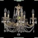 1701/5/181/C/GI Хрустальная подвесная люстра Bohemia Ivele Crystal (Богемия)