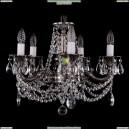 1701/5/181/C/NB Хрустальная подвесная люстра Bohemia Ivele Crystal (Богемия)