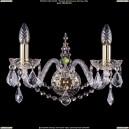 1411/2/160/G/Leafs Хрустальное бра Bohemia Ivele Crystal (Богемия)
