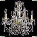 1411/4/141/G Хрустальная подвесная люстра Bohemia Ivele Crystal (Богемия)