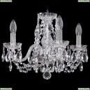 1402/4/141/Ni Хрустальная подвесная люстра Bohemia Ivele Crystal (Богемия)
