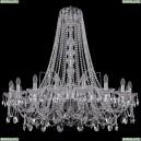 1411/18/400/h-113/Ni Хрустальная подвесная люстра Bohemia Ivele Crystal (Богемия)