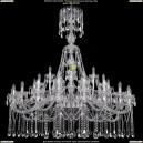 1413/20+10+5/530/XL-160/Ni Хрустальная подвесная люстра Bohemia Ivele Crystal (Богемия)