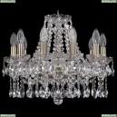 1413/10/165/Pa Хрустальная подвесная люстра Bohemia Ivele Crystal (Богемия)