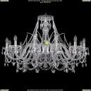 1411/12/360-66/Ni Хрустальная подвесная люстра Bohemia Ivele Crystal (Богемия)