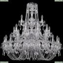 1402/20+10+5/360/3d/Ni Хрустальная подвесная люстра Bohemia Ivele Crystal (Богемия)