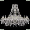 1411/24/460/G Хрустальная подвесная люстра Bohemia Ivele Crystal (Богемия)
