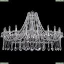 1413/20/460/Ni Хрустальная подвесная люстра Bohemia Ivele Crystal (Богемия)