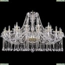 1413/20+10/530/G Хрустальная подвесная люстра Bohemia Ivele Crystal (Богемия)