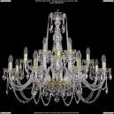 1402/8+4+4/300-74/G Хрустальная подвесная люстра Bohemia Ivele Crystal (Богемия)
