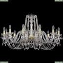 1402/12/360/G Хрустальная подвесная люстра Bohemia Ivele Crystal (Богемия)