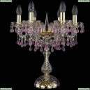 1410L/6/141-47/G/V7010 Настольная лампа Bohemia Ivele Crystal (Богемия), 1410