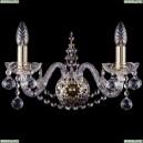 1411B/2/160/G/Balls Бра Bohemia Ivele Crystal (Богемия), 1411