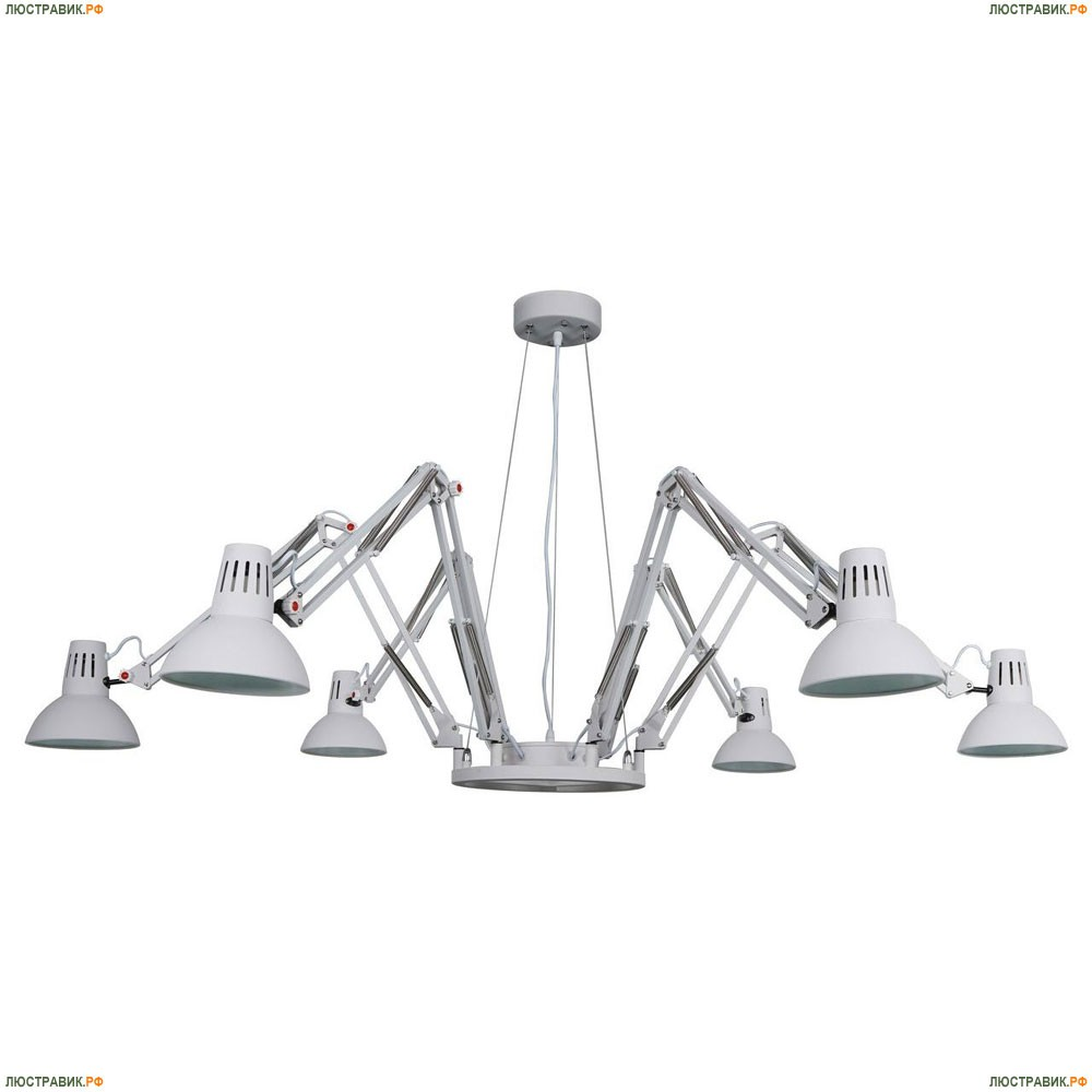 A2043SP-6WH Подвесная люстра Arte Lamp (Арте Ламп), Ragno White