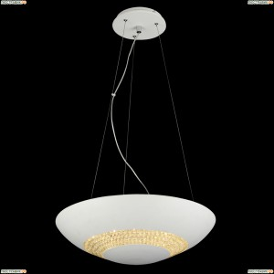 11154/8P WHITE, LED Люстра подвесная хрустальная светодиодная, LEDx24W, 4000K Natali Kovaltseva (Ковальцева)