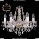 11.11.6.160.Gd.L Подвесная хрустальная люстра Art Classic (Арт Классик - Богемия)