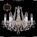 11.11.6.160.Gd.B Подвесная хрустальная люстра Art Classic (Арт Классик - Богемия)