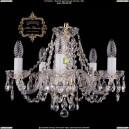 11.11.5.141.Gd.Sp Подвесная хрустальная люстра Art Classic (Арт Классик - Богемия)