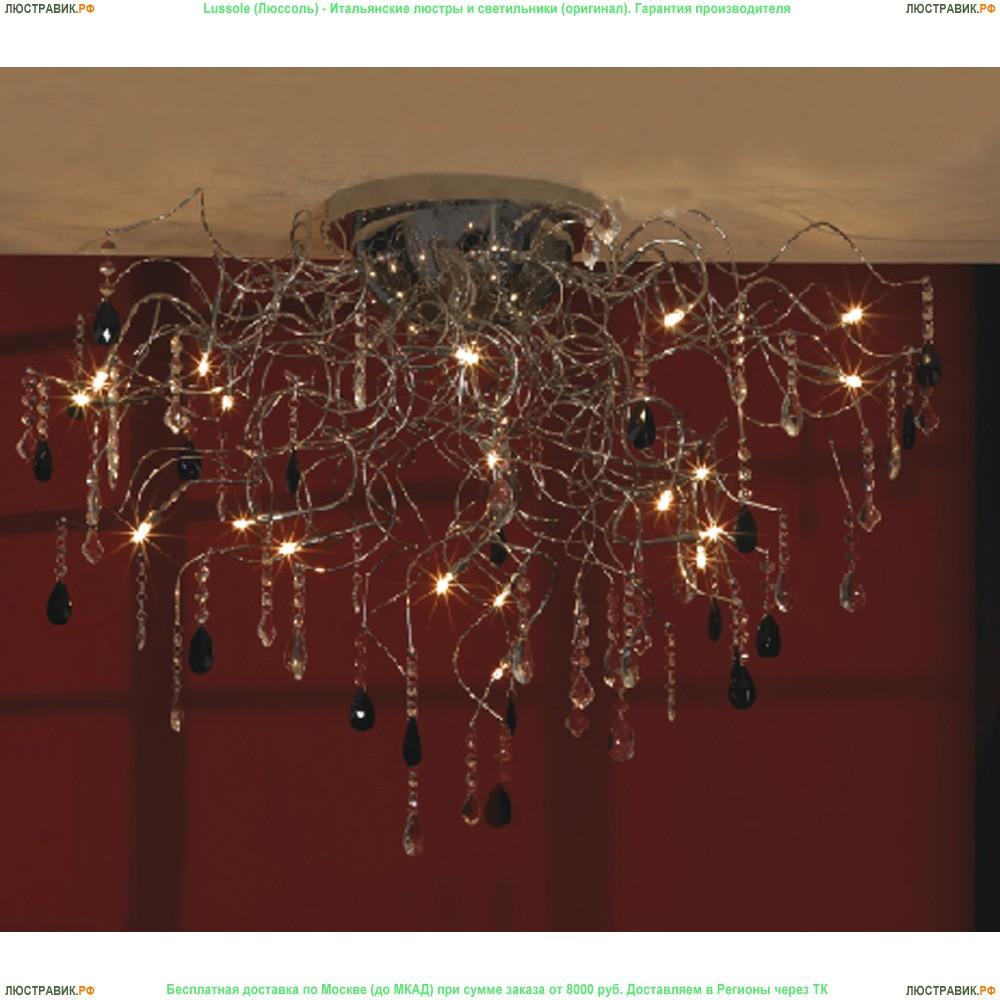 LSC-2903-19 Люстра потолочная Lussole Benevento хром 19 ламп