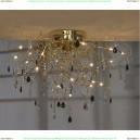 LSC-2913-19 Люстра потолочная Lussole Benevento золото 19 ламп