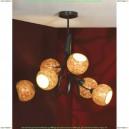 LSF-6203-06 Люстра потолочная Lussole Bagheria 6 плафонов
