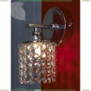 LSJ-0401-01 Бра Lussole Monteleto, 1 лампа, хром