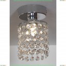 LSJ-0407-01 Светильник потолочный накладной Lussole Monteleto, 1 лампа, хром